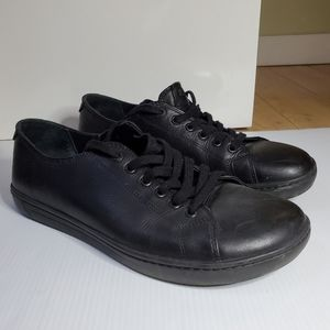 Birkenstock leather lace up sneakers black 44